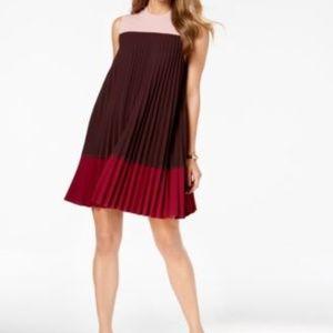 Alfani pleated dresss. Petite 10